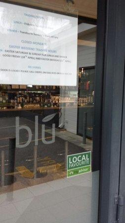 Blu Grill: Local Favourite