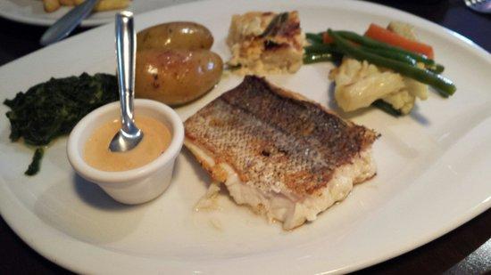 Le p'tit Goustan : Filet de poisson et ses légumes