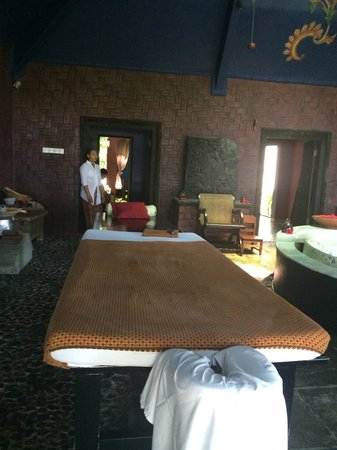 Hotel Tugu Lombok : Peaceful and private, the massage room was an oasis.