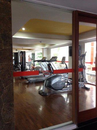 The Jimbaran View : The gym room