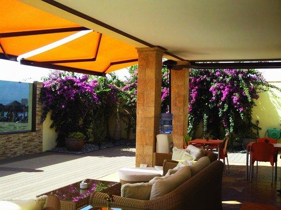 Sunny Dom Holiday Villa: main terrace
