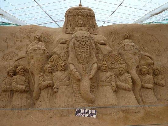 Mysore Sand Sculpture Museum: Sculpture