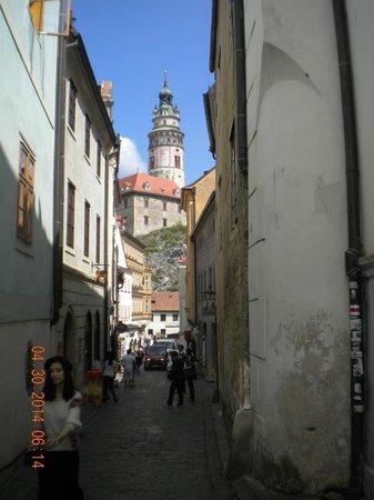 Historic Center of Cesky Krumlov : View of Cesky Krumlov