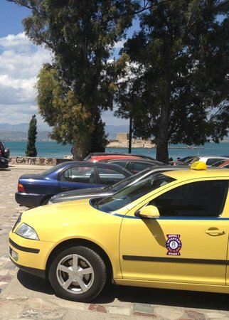 Athens Taxi  Private Day Tours - Andreas: Atens Cab @ Peloponnese