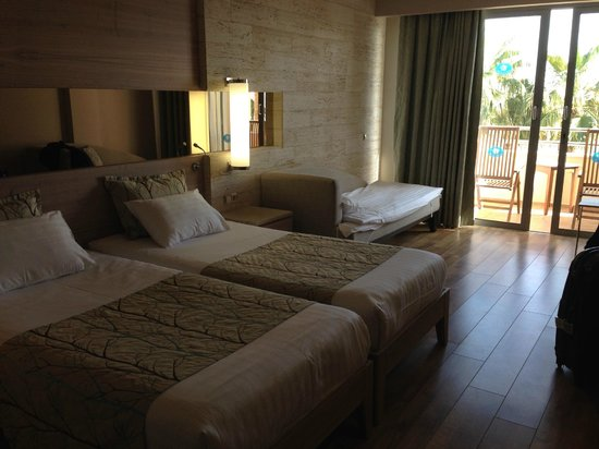 Melas Resort Hotel: Our room