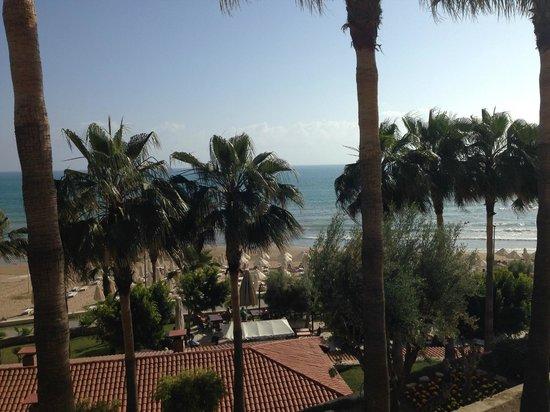Melas Resort Hotel: View of our room