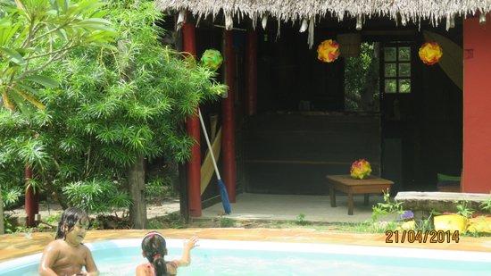Eco Hostel Lujimba : la pile...