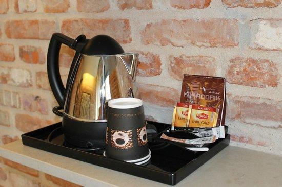 Hindsgavl Slot: Kaffe på værelset...