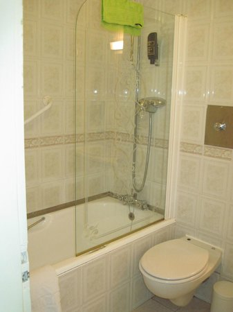 The Earl of Desmond Hotel: Shower