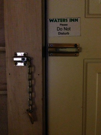 Waters Inn: Do Not Disturb