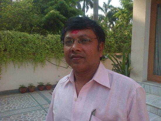 Hotel Buddha: Travel Desk Manager Mr.Raju ji