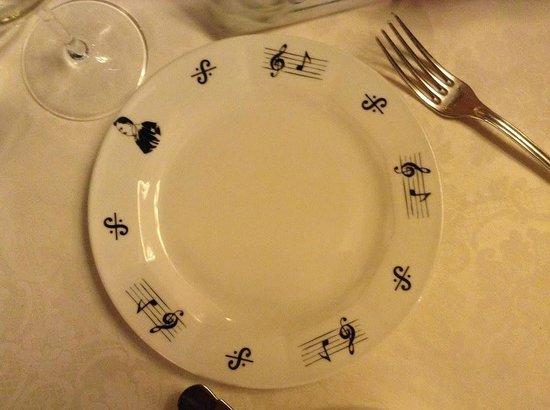 Ristorante Museo Caruso: particolare piatto...