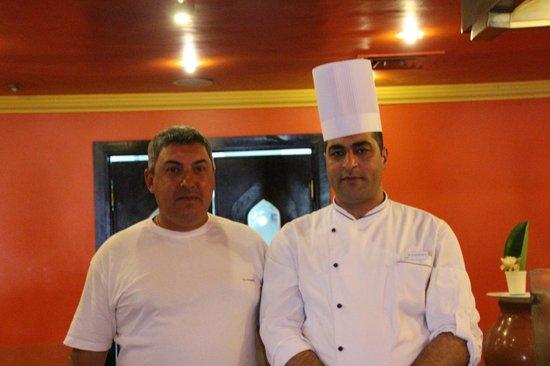 Domina Hotel & Resort Harem: Отличный шеф повар