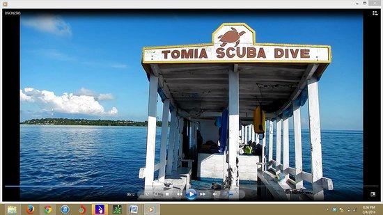 Tomia Scuba Dive: Tomia Dive Center Boat