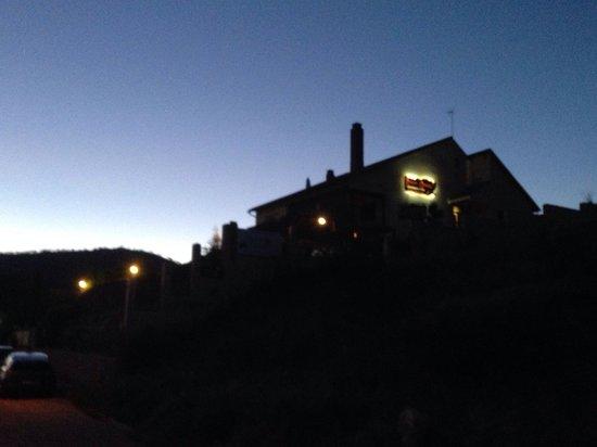 Roqueo de Chavela: Así anochece en #robledodechavela Mararavilla que merece la pena disfrutar