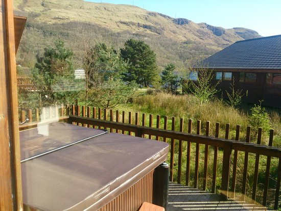 Forest Holidays Ardgartan Argyll, Scotland: View from lounge
