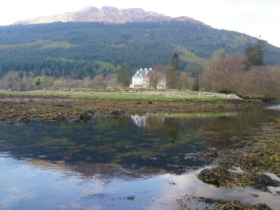 Forest Holidays Ardgartan Argyll, Scotland: view from the shore