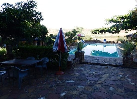 Hotel Isalo Ranch : The pool area