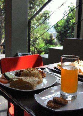 Rumah Kiboku Bed and Breakfast: breakfast