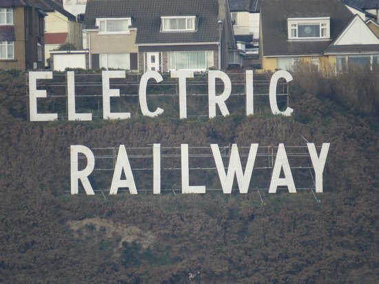 Manx Electric Railway: You can't miss this from the promenade!