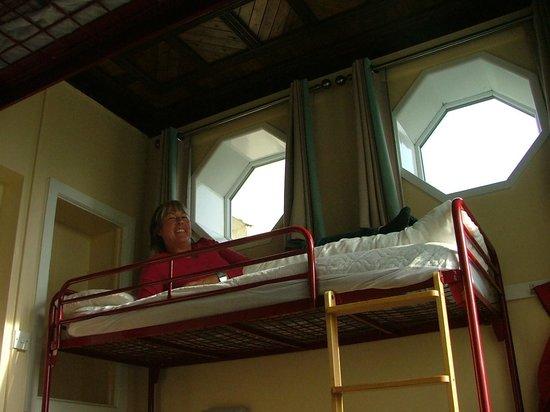 YHA Windermere : top bunk