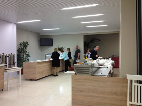 Hotel Delfin: Le buffet...