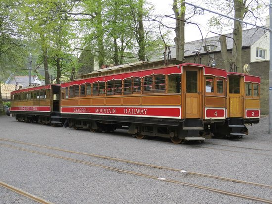 Manx Electric Railway: Snaefell Mountain Railway