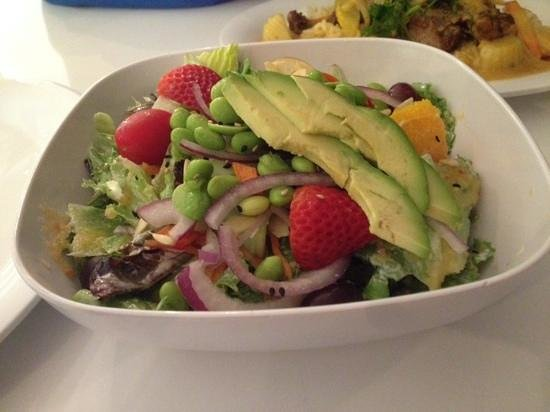 Fire Street Food: edamame salad