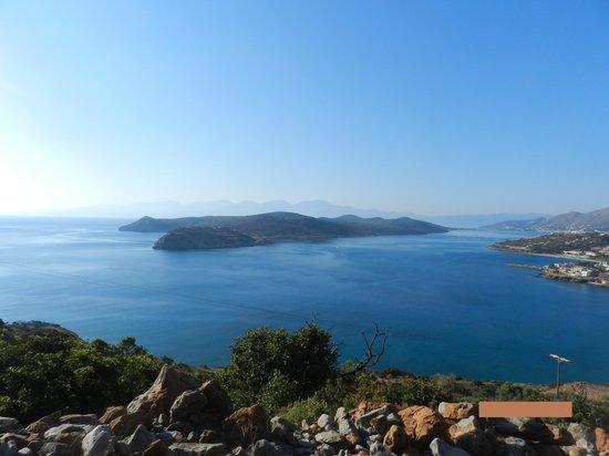 Athina Villas: Вид на залив
