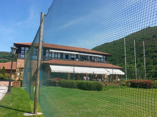 Restaurante Campo Municipal de Golf Las Caldas: Restaurante