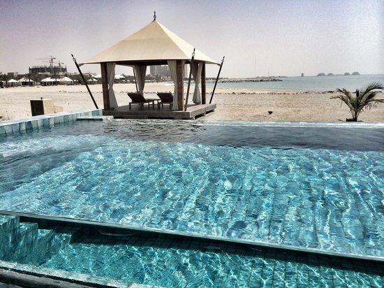 Banyan Tree Ras Al Khaimah Beach : You get your very own gazebo/tent on the beach