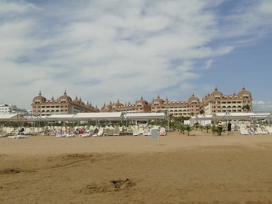 Royal Alhambra Palace: View from the beach