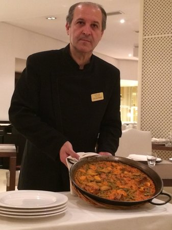 La Albufera Restaurante: Paela for 2