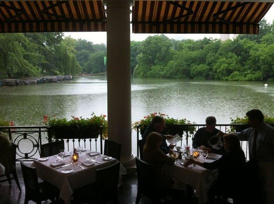 The Loeb Boathouse at Central Park : Lindo!