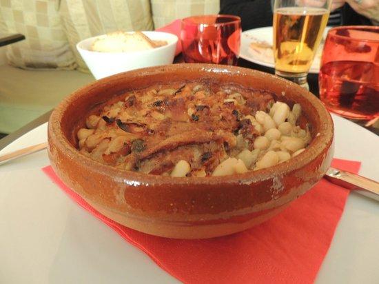 La Table d'Alaïs : cassoulet maison