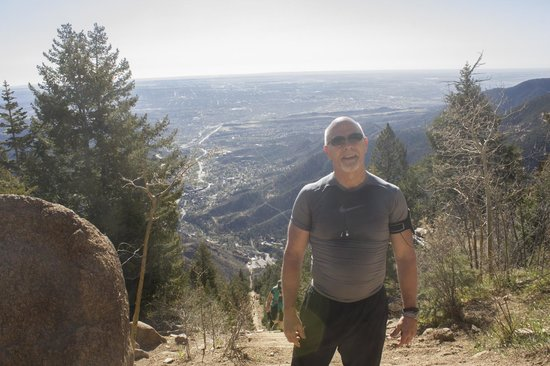 Manitou Springs Incline : At the top