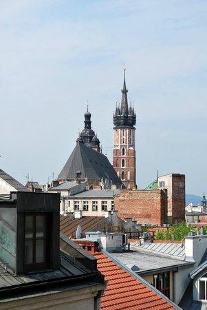 Campanile Krakow : View from Window