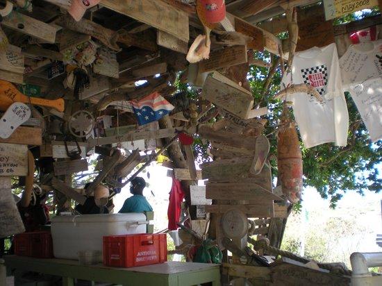 Pineapple Beach Club Antigua : Mary's Out House