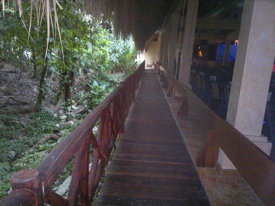 Iberostar Tucan Hotel: lateral de la sala de espectaculos