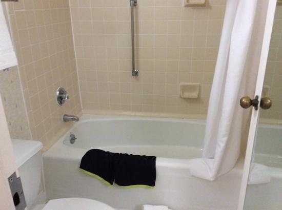 Quality Inn Fredericksburg, Central Park Area: 1st bathroom