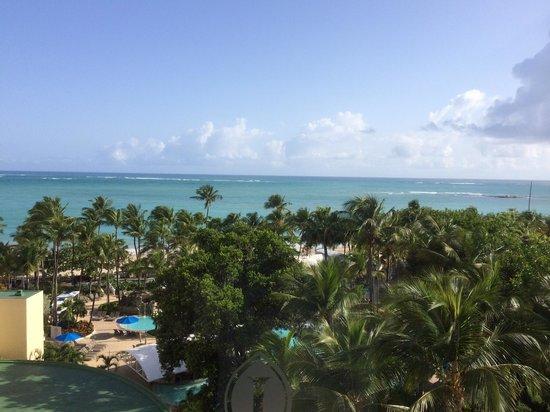 InterContinental San Juan : View from ocean view room