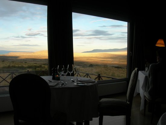 EOLO - Patagonia's Spirit - Relais & Chateaux: Abenddämmerung