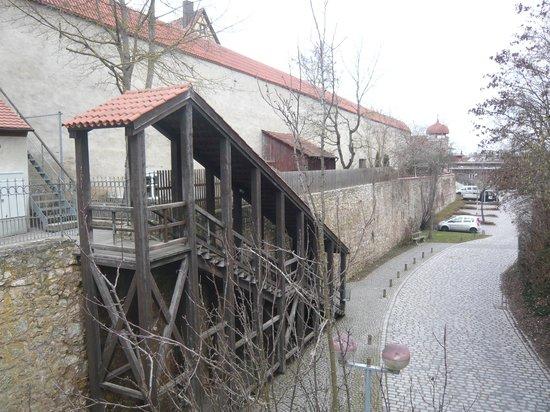 Kirchturm Daniel: 城壁への階段