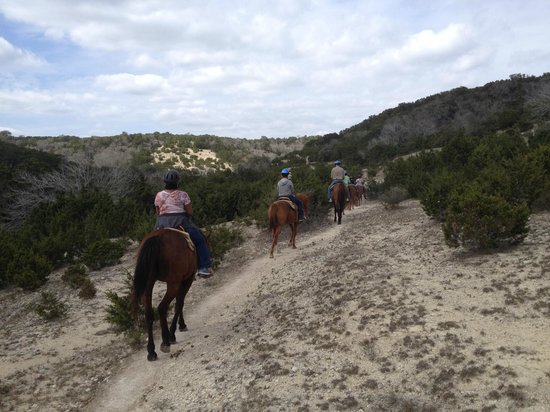 Stricker Trail Rides: Gorgeous scenery