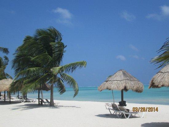 PavoReal Beach Resort Tulum: playa del hotel