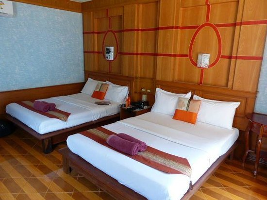 Lanta Miami Bungalows : Chambre bungalow situé en front de mer 1ère ligne