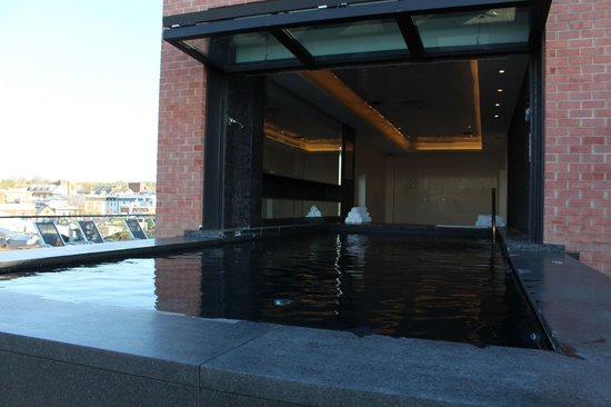Rosewood Washington, D.C. : Heated Infity pool - admire the skyline of DC and watch the planes come in to Reagan