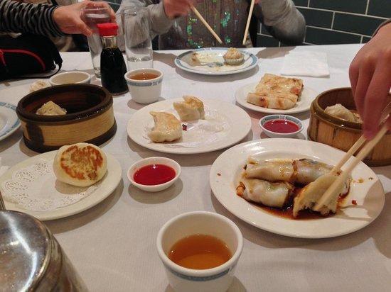 Great Eastern Restaurant : 注文した飲茶です。