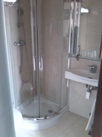 Suico Atlantico Hotel: Baño