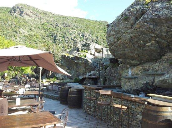 La Sassa : Le bar